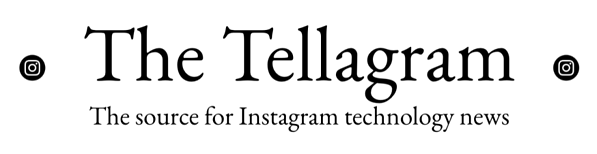The Tellagram (logo with subheading ROUNDED