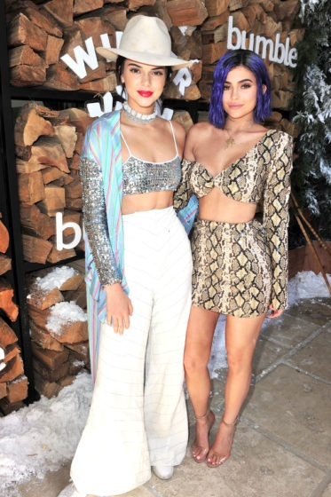 Kendall and Kylie Jenner Coachella Party